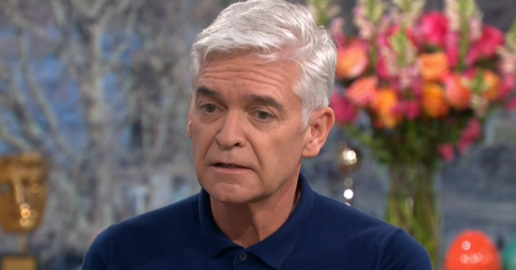 This Morning Phillip Schofield comes out Credit: ITV