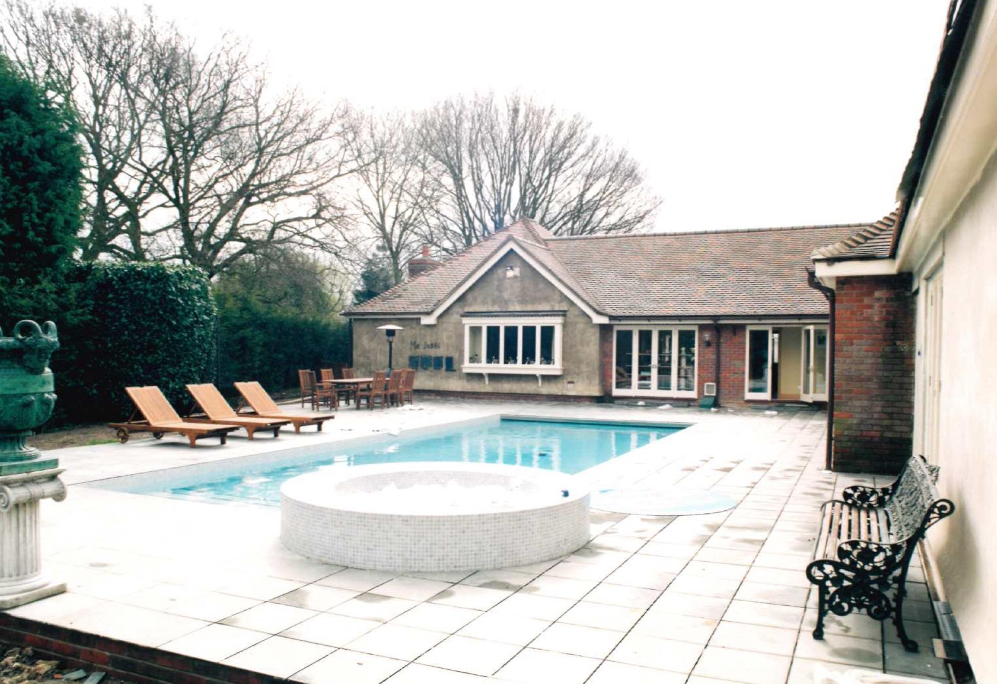 Michael Barrymore's pool