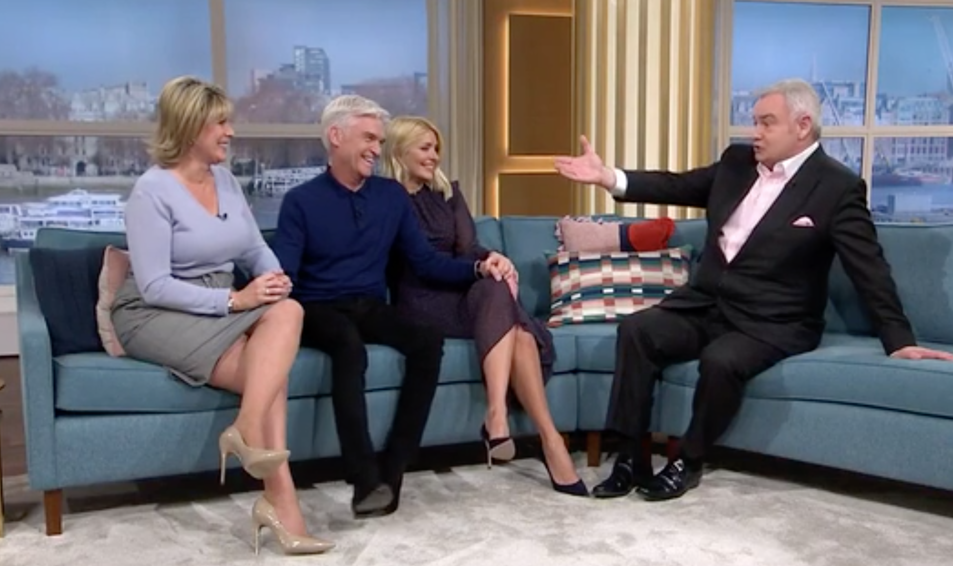This Morning viewers accuse Eamonn Holmes of ruining Phillip Schofield's coming out announcement