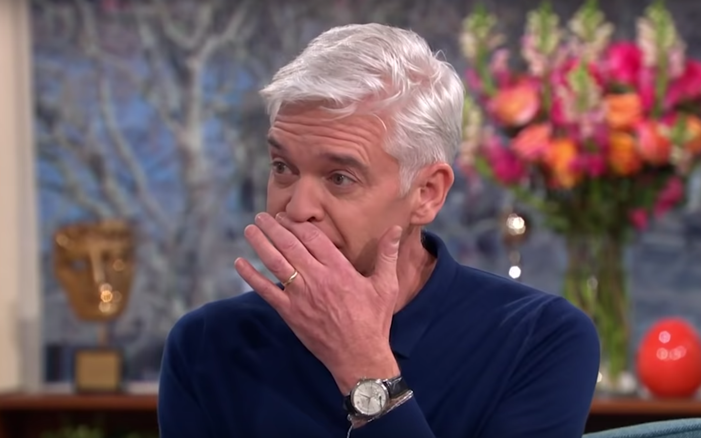 Phillip Schofield breaks down as he reveals family's reaction to him coming out as gay
