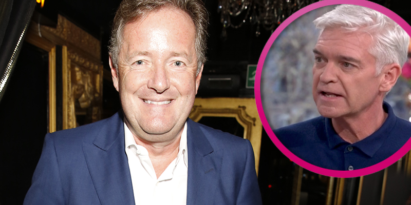 Piers Morgan sends message of support to Phillip Schofield after his shock coming out announcement