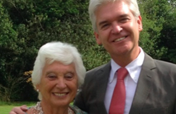 Phillip Schofield reveals mum's blunt reaction to him coming out as gay