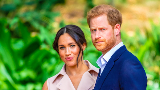 Meghan and Harry 'besotted with each other after stepping away from royal life'