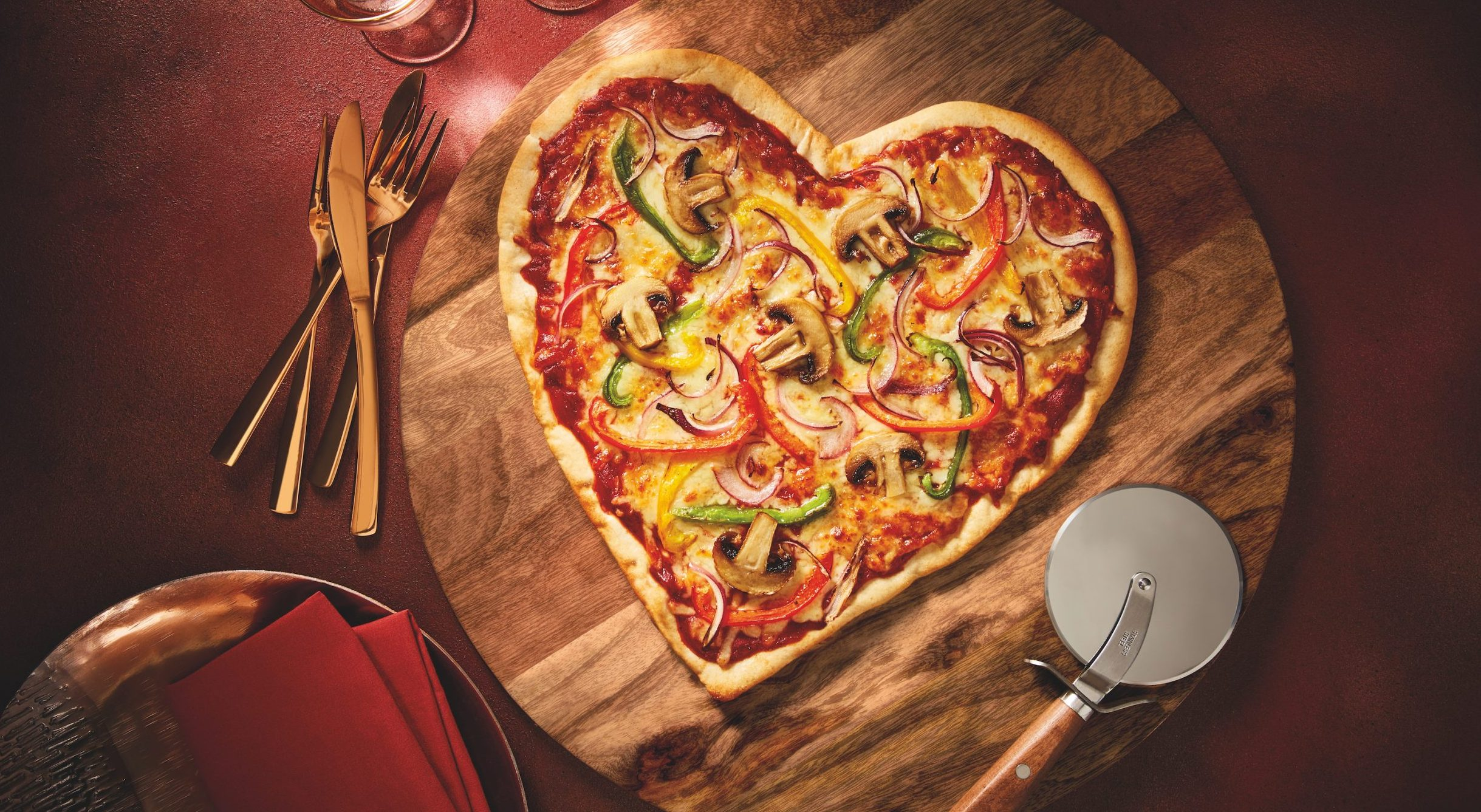 Shoppers fall in love with Morrisons' mouthwatering heart-shaped Valentine's pizzas