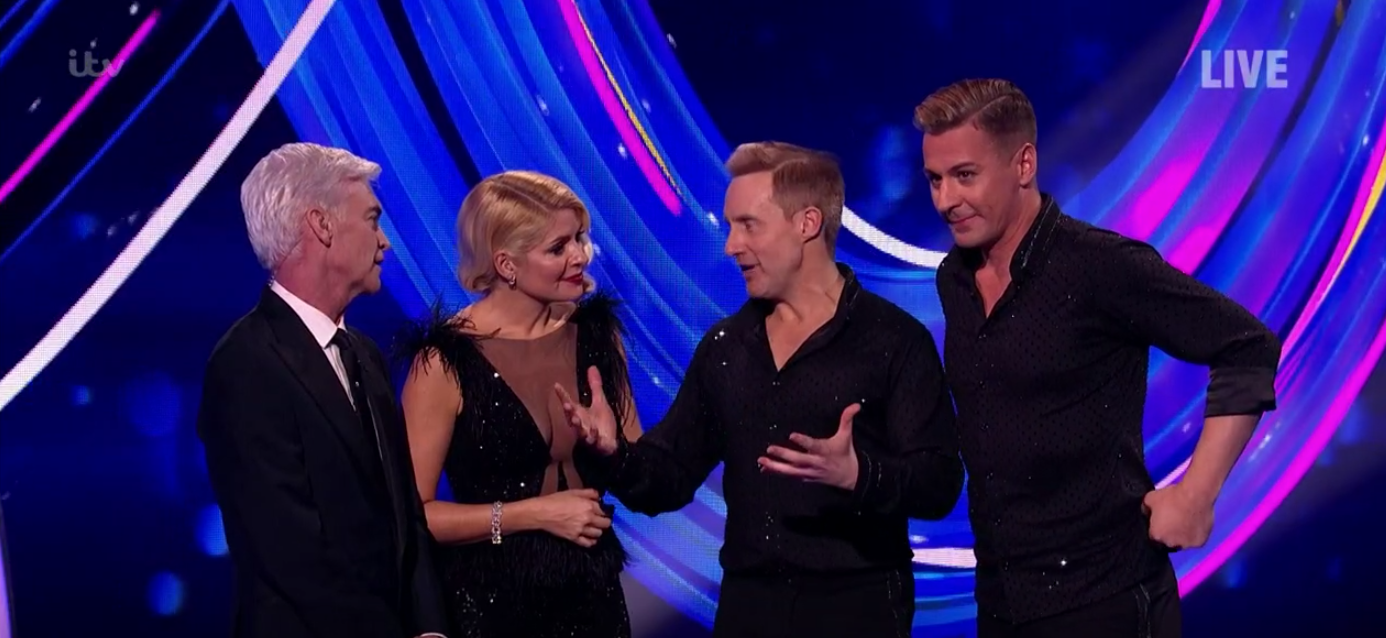 Dancing On Ice: Ian H Watkins and Matt Evers eliminated
