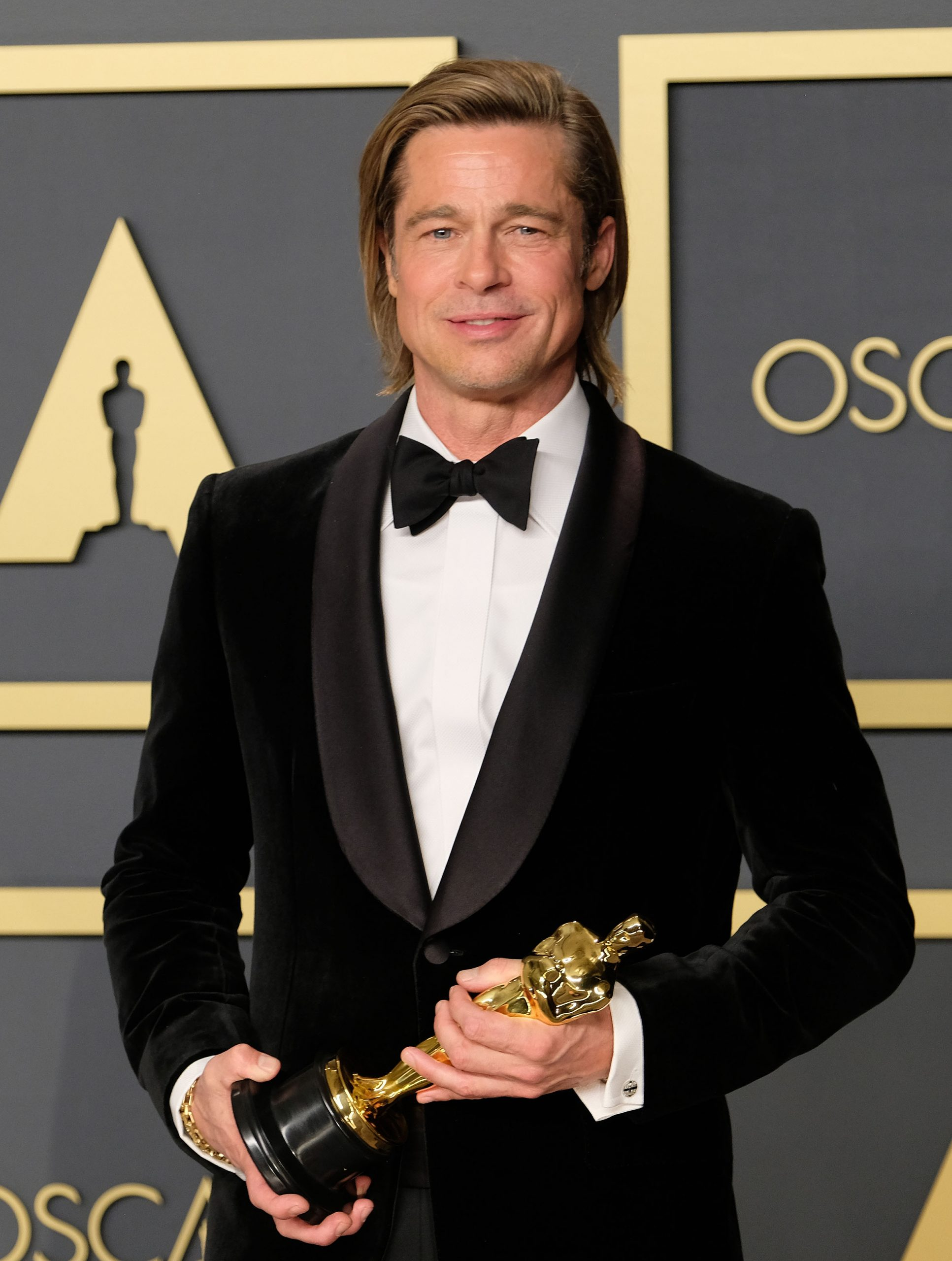 Brad Pitt wins Best Supporting Actor Oscar