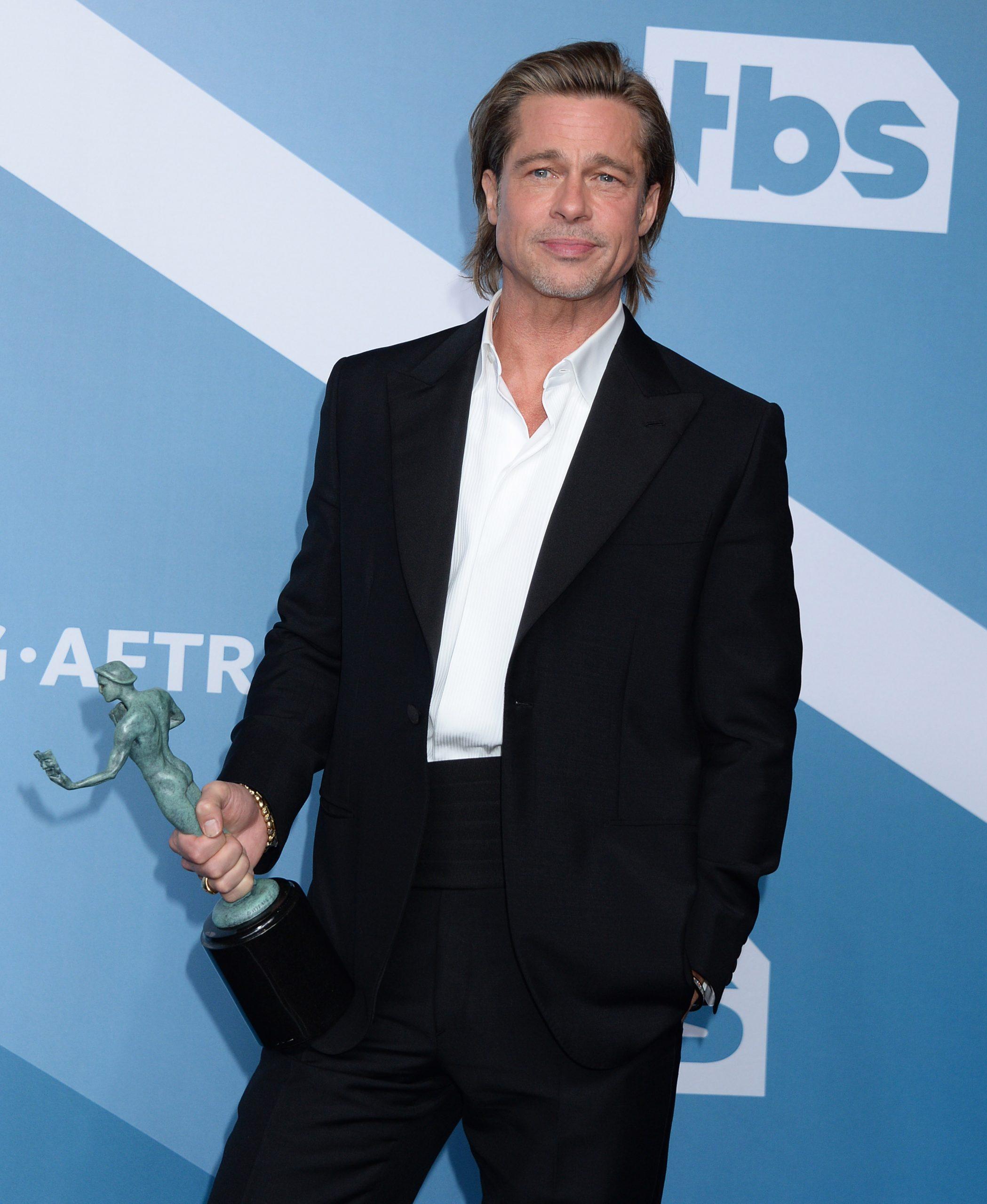 Brad also won a SAG award