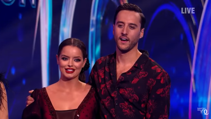 Dancing on Ice fans turn off as Love Island star Maura Higgins smashes head