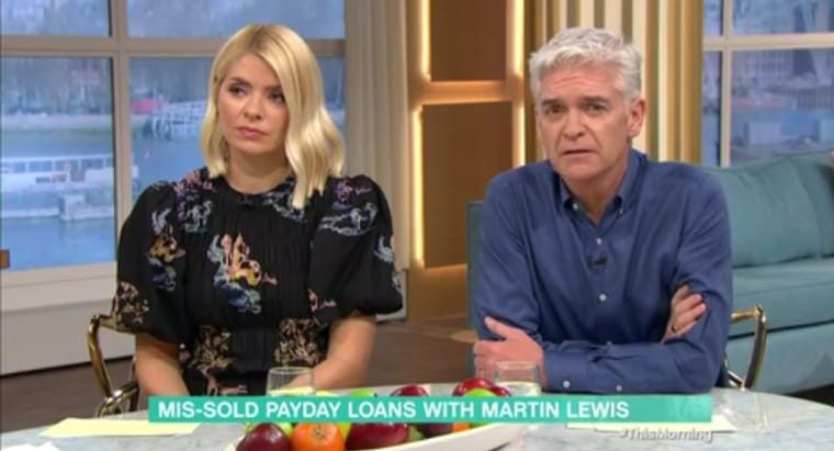 Philip Schofield mouths 'sorry' as Martin Lewis swears live on This Morning