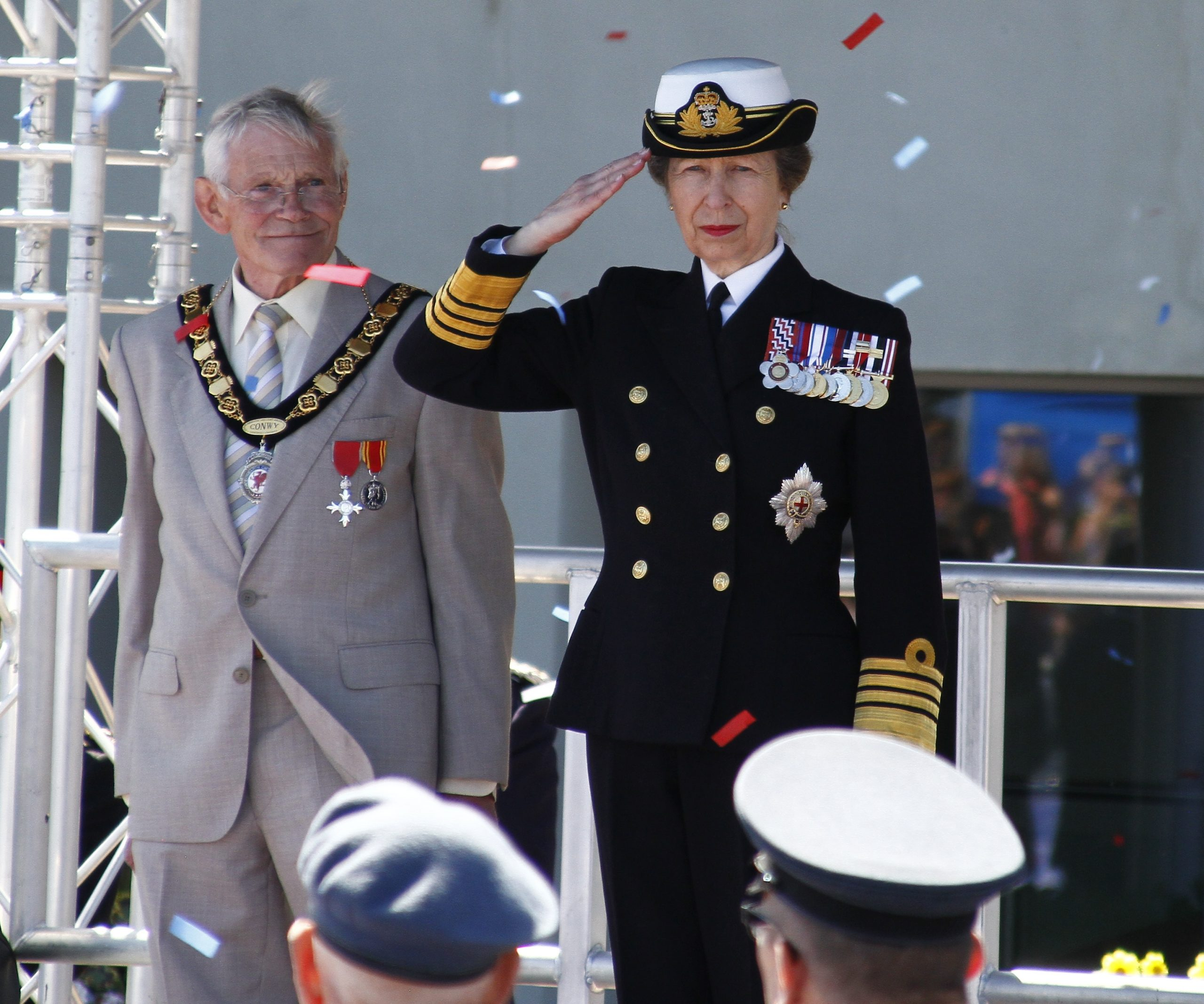 Princess Anne is to replace Harry as Captain General