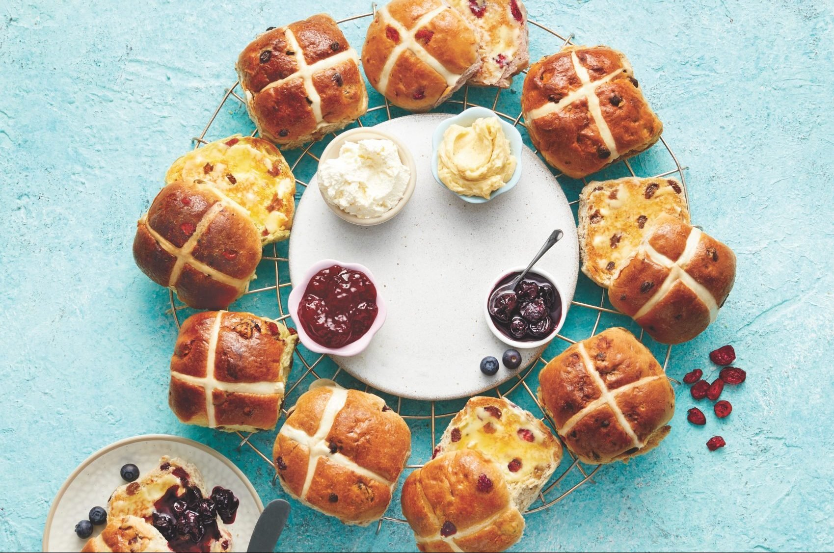 Aldi launches EIGHT different types of hot cross bun including salted caramel and sticky toffee pudding flavours