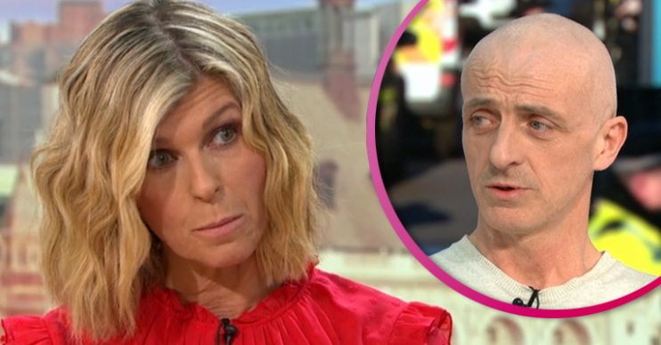 Kate Garraway and guest on GMB