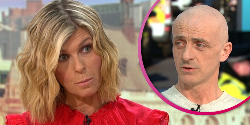 Kate Garraway mocked by GMB viewers for question to London Bridge hero