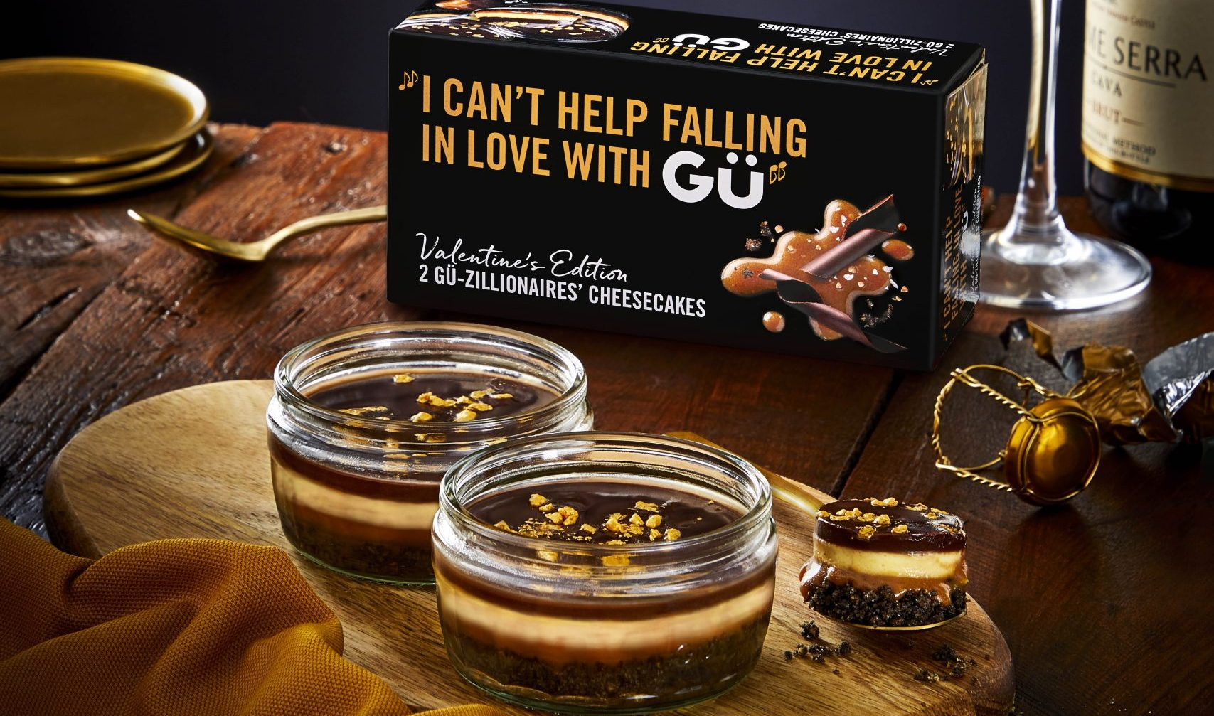 Shoppers 'salivate' over Gü's limited-edition chocolate, salted caramel and lemon desserts for Valentine's Day