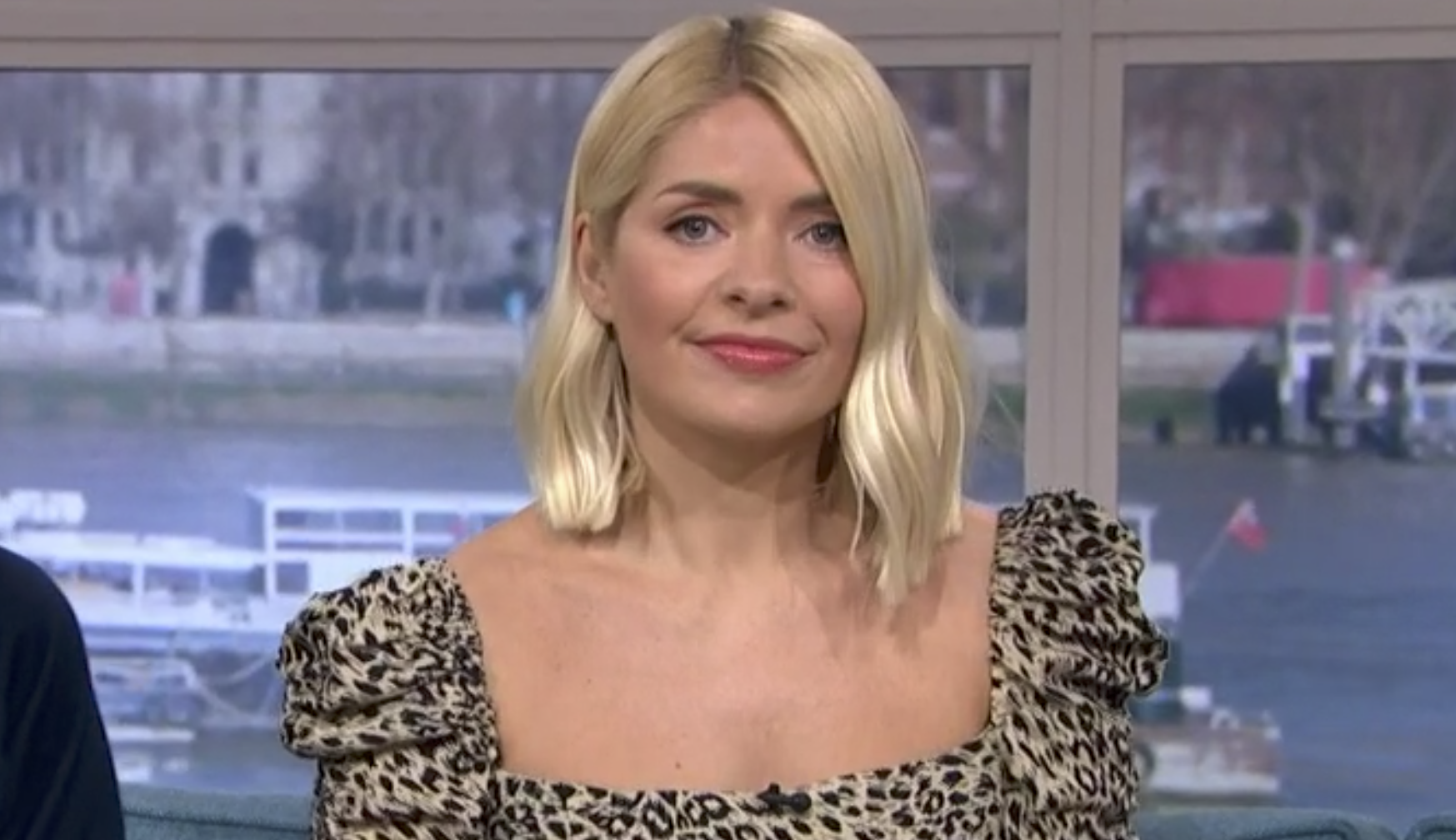 This Morning viewers go wild for Holly Willoughby's leopard-print dress