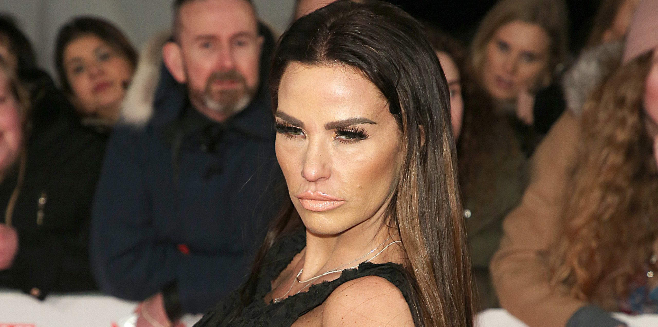 Katie Price reveals her dog Sparkle has died after being hit by car