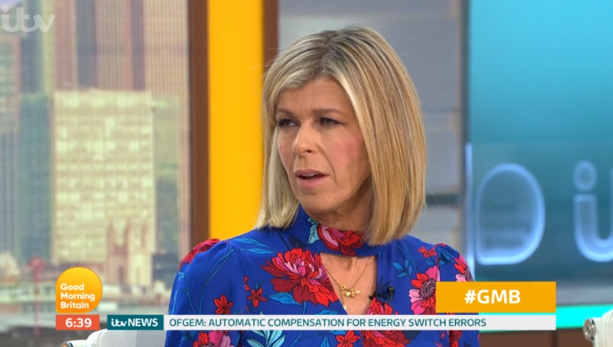 GMB viewers mock Kate Garraway's dress after her swipe at co-star's outfit