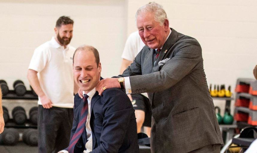 Royal fans adore Prince Charles' 'perfect father-son moment' with Prince William