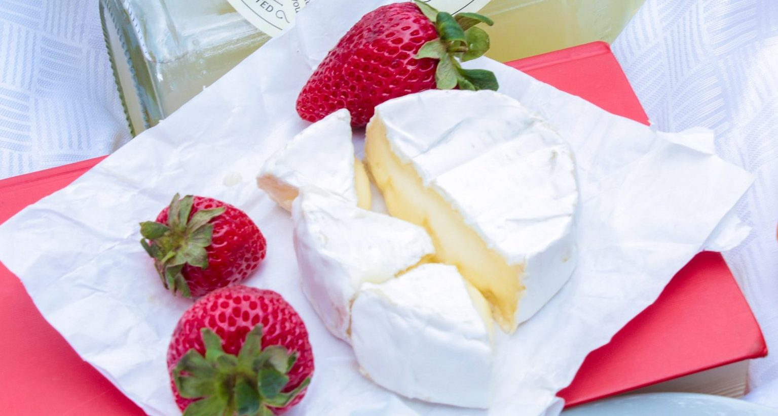 Heart-shaped strawberries and cream-flavoured CHEESE is part of Lidl's new Valentine's range