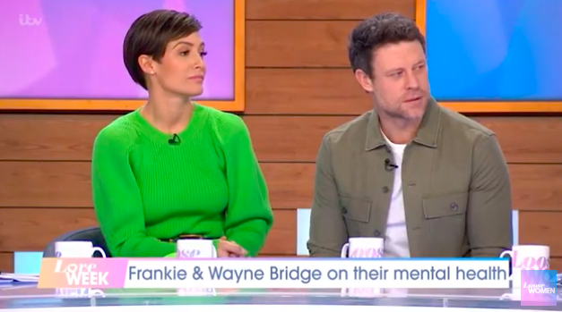 Frankie Bridge questioned whether her husband's life would have been easier without her
