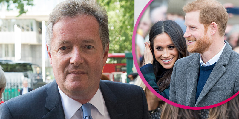 Piers Morgan accuses Meghan and Harry of 'exploiting' Diana's death for money