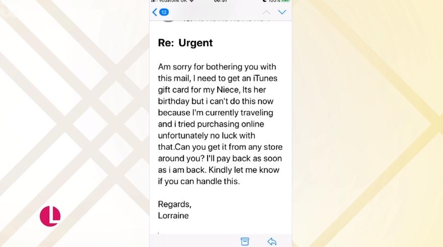 Lorraine email