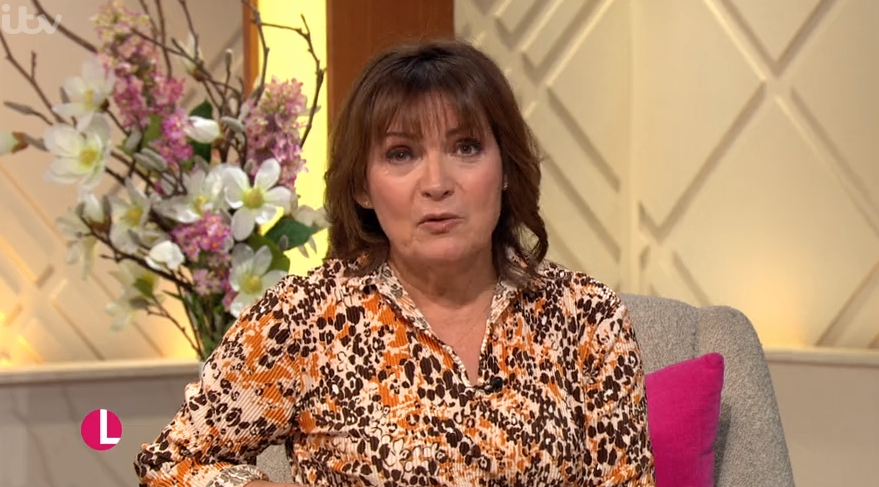 Viewers convinced Lorraine Kelly's phone number was revealed on air