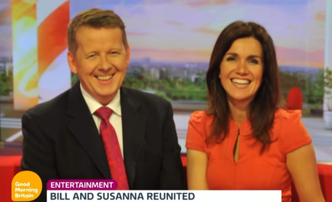 Bill Turnbull 'thrilled' to replace Piers Morgan on Good Morning Britain and reunite with Susanna Reid