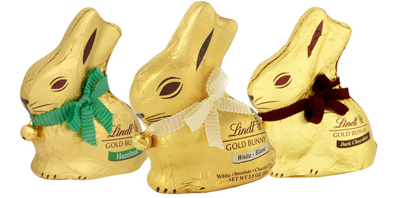 Lindt has launched a white chocolate Gold Bunny for Easter and chocoholics are drooling