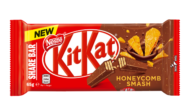 Nestle's 'delicious' new KitKat Honeycomb Smash sharer bar is now available in the UK