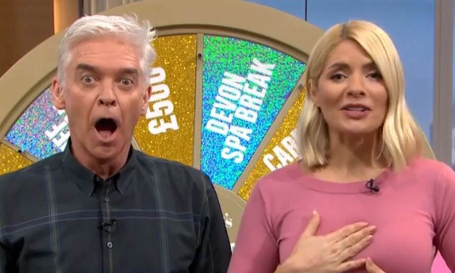 Phillip Schofield and Holly Willoughby stunned as doctor calls game segment while seeing patient
