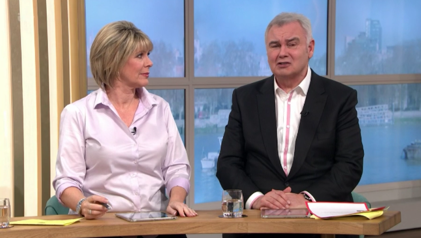Ruth Langsford slammed after Eamonn Holmes lets slip council house 'insult'