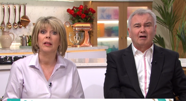Eamonn branded 'ungrateful' by This Morning caller for moaning about Valentine's gift from Ruth