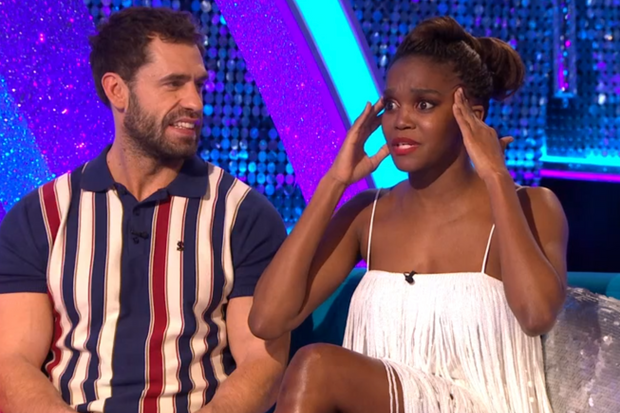 Strictly's Oti Mabuse 'arranges meeting' with Kelvin Fletcher's wife
