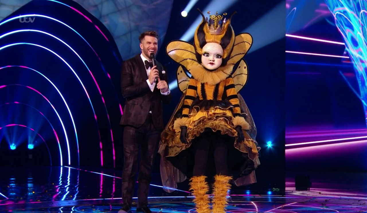 The Masked Singer final: Queen Bee won and was revealed as Nicola Roberts