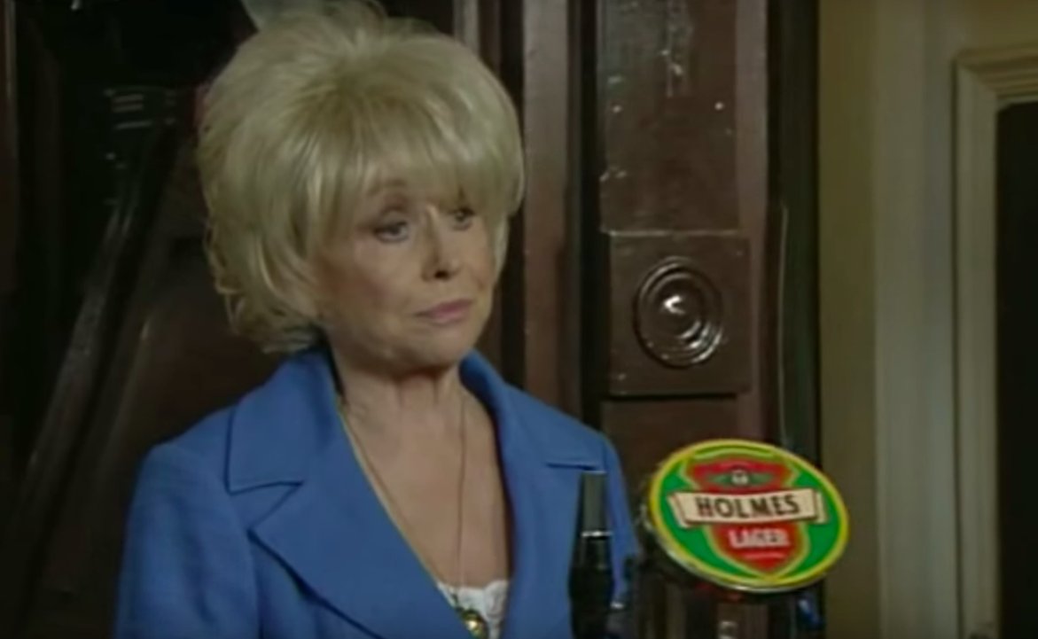 Barbara Windsor as Peggy Mitchell in EastEnders (Credit: BBC One)