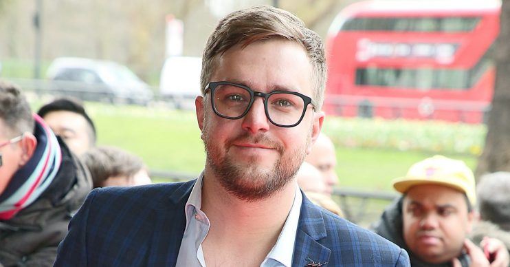 The TRIC Awards 2018, Grosvenor House, London UK, 13 March 2018, Photo by Brett D. Cove Pictured: Iain Stirling,Caroline Flack Connor McIntyre Dolly Rose Campbell Dawn Ward Guest Iain Stirling Joseph McFadden Laura Whitmore Linda Robson Melanie Sykes Prue Leith Rebekah Vardy Sam Thompson Stanley Johnson Tom O'Connor Jess Conrad Tom Read Wilson Vanessa White Ref: SPL1670107 130318 NON-EXCLUSIVE Picture by: SplashNews.com Splash News and Pictures Los Angeles: 310-821-2666 New York: 212-619-2666 London: +44 (0)20 7644 7656 Berlin: +49 175 3764 166 photodesk@splashnews.com World Rights