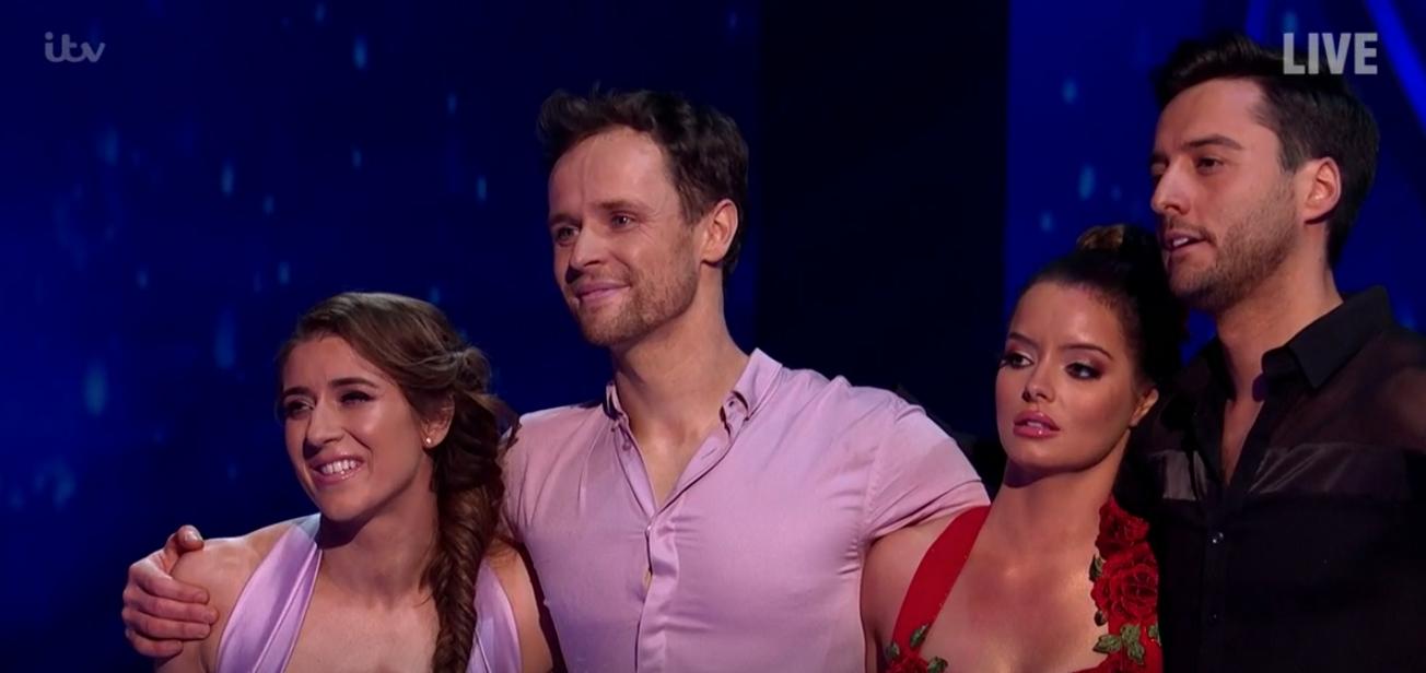 Dancing On Ice: Maura Higgins and Alexander Demitriou eliminated