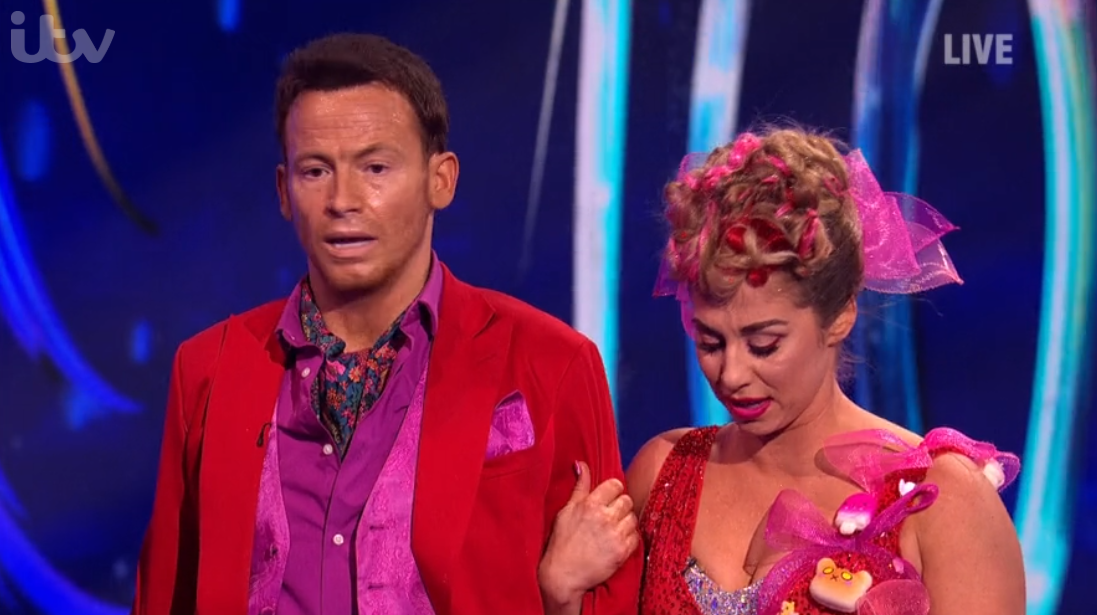 Joe Swash 'nearly broke Dancing On Ice partner's back' in fall after Caroline Flack's death