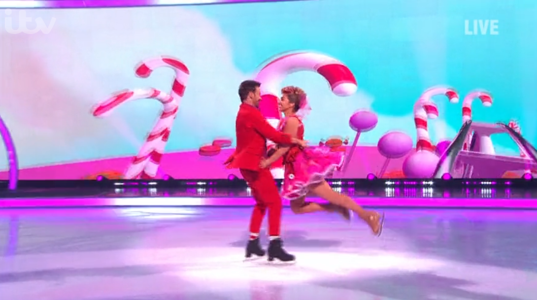 Joe Swash on Dancing On Ice