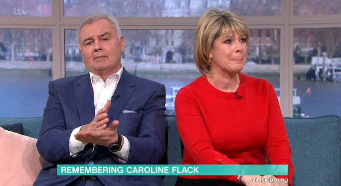 Ruth Langsford in tears on This Morning over Caroline Flack's death