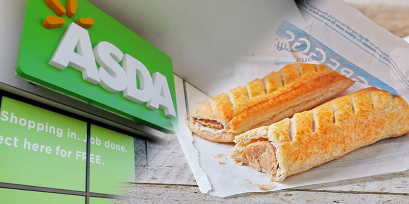 Asda to launch Greggs counters inside stores so you can grab a sausage roll as you shop