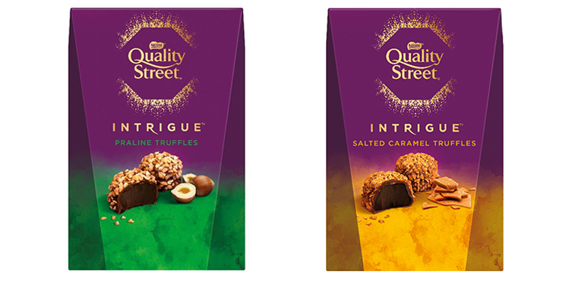 Quality Street to launch new salted caramel and praline Intrigue truffles 'at Asda next month'
