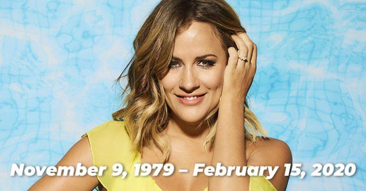 Caroline Flack Love Island tribute