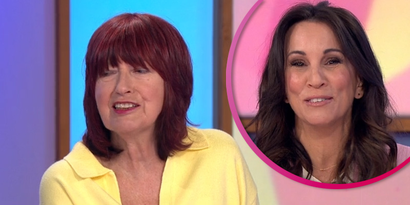 Loose Women viewers in hysterics as Janet Street Porter calls Andrea McLean s-word on air
