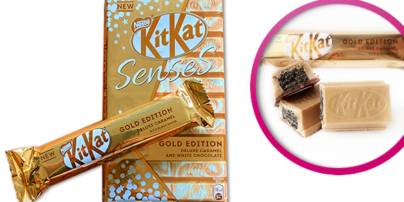 Fans call the new KitKat Chunky Deluxe Caramel – with its BLACK wafer – the 'perfect' chocolate bar