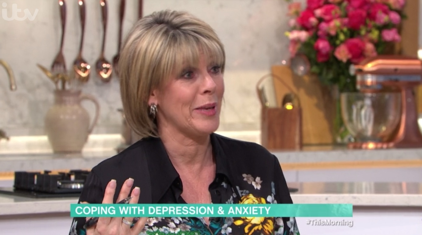 Ruth Langsford pleads with distressed This Morning caller in emotional segment