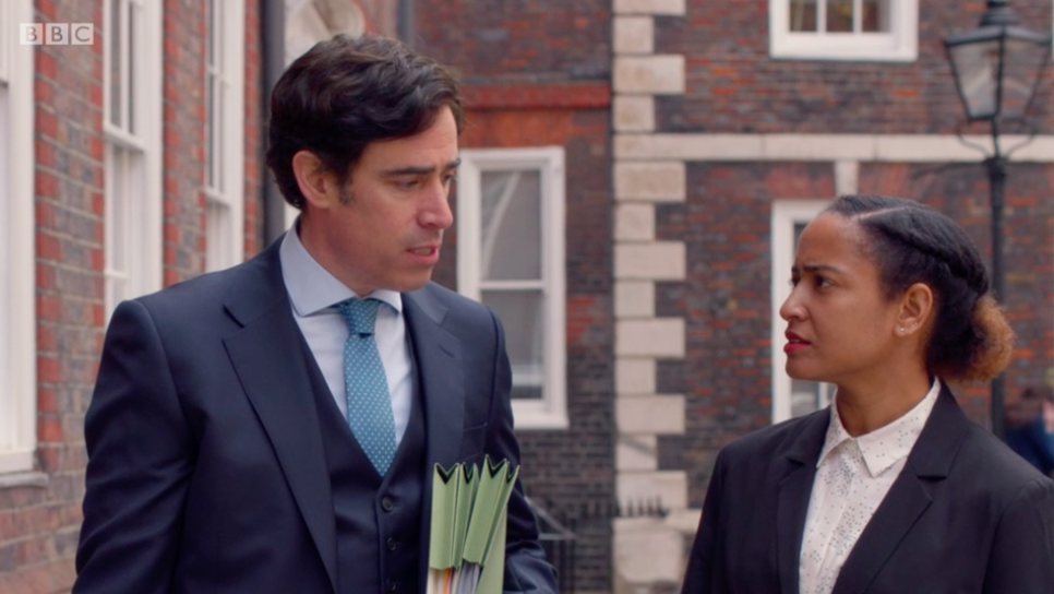 Stephen Mangan as Nathan Stern in The Split