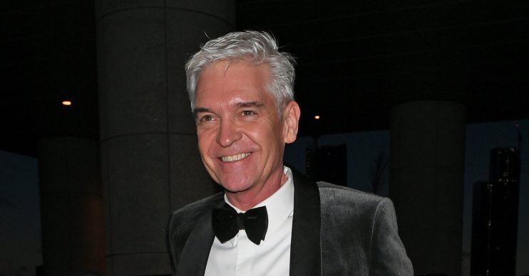 Phillip Schofield among celebrities attending the NTA awards at the O2 arena
