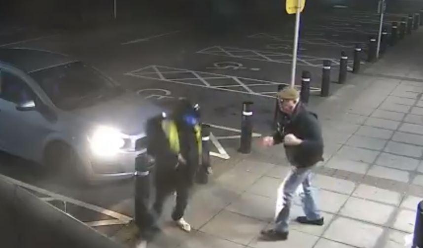 CCTV pensioner fights off mugger